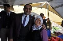 ÇAVUŞLU - Atsız Afşın Aracı Oldu Semt Pazarı Sorunu Çözüldü