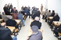 KAHRAMANLıK - Başkan Gürkan Galericiler Sitesi Esnafları İle Bir Araya Geldi
