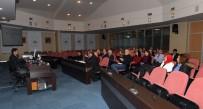 OMURGA - Belediye Personeline Omurga Sağlığı Semineri