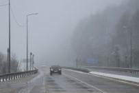 ELMALıK - Bolu Dağı'nda Kar Yağışı Başladı