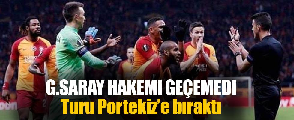 Galatasaray hakemi geçemedi!.
