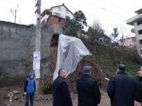 MEHMET İZMEN - Giresun'da İnşaat Temelinde Heyelan Meydan Geldi, Çevre Evler Boşaltıldı