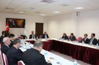 Isparta'da Seçim Güvenliği Toplantısı