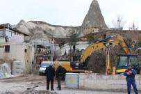 KÜLTÜR VE TURIZM BAKANLıĞı - Kapadokya'daki Otel Yıkımına Ara Verildi