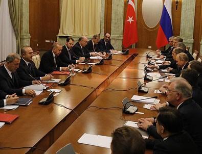 Erdoğan ve Putin'den kritik sözler