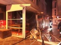 Restoranda Doğal Gaz Patlaması İş Yeri Sahibini Hastanelik Etti