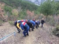 Sinop'ta İnek Kurtarma Operasyonu