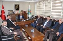 AHMET FARUK ÜNSAL - Ünsal, Ziraat Odası Başkanı Şahan'ı Tebrik Etti