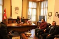 YOLCU TAŞIMACILIĞI - Yolcu Taşımacılığı Firmalarından Başkan Gürün'e Teşekkür Ziyareti