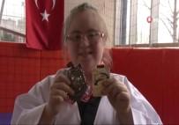 TEKVANDO - 13 Yaşındaki Down Sendromlu Fatima Tekvandoda Dünya Şampiyonu
