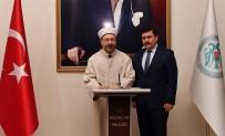 Diyanet İşleri Başkanı Erbaş Erzincan'da