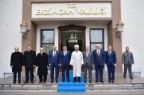 Diyanet İşleri Başkanı Erbaş Erzincan Valiliği'ni Ziyaret Etti