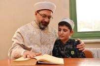 Diyanet İşleri Başkanı Erbaş, Kur'an Kursunun Açılışını Yaptı