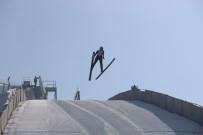 GENÇLİK VE SPOR İL MÜDÜRÜ - Erzurum'da Okullar Arası Kayakla Atlama Yarışması Nefes Kesti