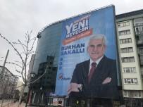 YıLBAŞı - Eskişehir'de AK Parti Adayının Seçim Afişi İndirildi