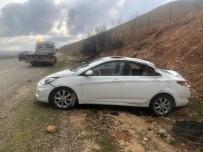 Gercüş'te Yoldan Çıkan Otomobil Takla Attı Açıklaması 3 Yaralı