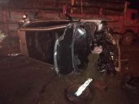 ÇAVUŞLU - Giresun'da Otomobil Takla Attı Açıklaması 2 Yaralı