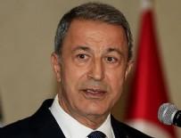 MILLI SAVUNMA BAKANı - Milli Savunma Bakanı Akar: Güvenli bölgede sadece Türkiye olmalıdır