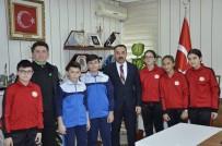 GENÇLİK VE SPOR İL MÜDÜRÜ - Jimnastik Ve Masa Tenisi Kafilesi Anadolu Yıldızlar Ligi'ne Uğurlandı