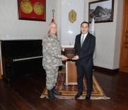KARA KUVVETLERİ KOMUTANI - Kara Kuvvetleri Komutanı Dündar'dan Vali Öksüz'e Ziyaret