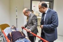 Vali Demirtaş Yaralanan İşçileri, Hastanede Ziyaret Etti