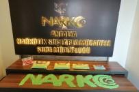 Antalya'da 20 Bin 300 Adet Ecstasy Hap Ele Geçirildi