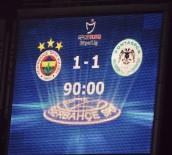 FENERBAHÇE - Fenerbahçe, 10 Kişilik Konyaspor İle Berabere Kaldı