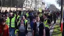 GIDA SEKTÖRÜ - Fransa'da Sarı Yelekliler Gösterilerin 14'Üncü Haftasında Sokaklarda