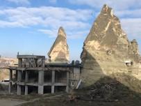 ORTAHISAR - Kapadokya'da 15 Kaçak Yapı Yıkılacak