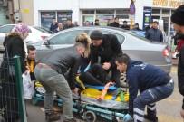 ATATÜRK BULVARI - Karaman'da Motosikletin Çarptığı Yaya Yaralandı