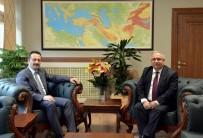 SAKARYA VALİSİ - Sakarya Valisi Nayir İle Bilecik Valisi Şentürk Bir Araya Geldi