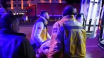 ATATÜRK BULVARI - Samsun'da Zincirleme Trafik Kazası Açıklaması 5 Yaralı