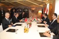 BARZANI - Savunma Bakanı Akar, IKBY Başbakan Adayı Barzani İle Görüştü
