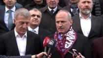 İSMAIL USTAOĞLU - Ulaştırma Ve Altyapı Bakanı Cahit Turhan'dan Trabzonspor'a Ziyaret