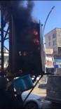 CENGIZ TOPEL - Aşırı Yüklemeden Dolayı Elektrik Trafosu Yandı