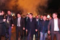 ERDOĞAN TOK - Başkan Tok'a Kışla'da Meşaleli Karşılama