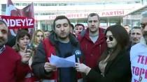 ANıTKABIR - CHP Genel Merkezi Önünde Protesto