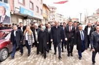 Cumhur İttifakı Adayları Ilgın Ve Doğanhisar'da Vatandaşlardan Destek İstedi