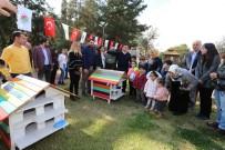 FATIH SULTAN MEHMET - Kepez'in Sokak Hayvanları Dokumapark'ta 'EV'lendi