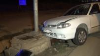 Kırıkkale'de Sürat Kaza Getirdi Açıklaması 2 Yaralı
