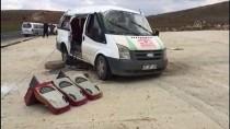 112 ACİL SERVİS - Nişan törenine giden araç takla attı! 3 ölü, 14 yaralı