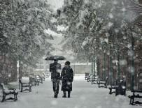 YAĞMURLU - Meteoroloji'den son dakika yağış uyarısı