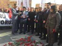 SAHİL GÜVENLİK - Sivil Memurlardan Saldırının Yıl Dönümünde Merasim Sokak'ta Açıklama