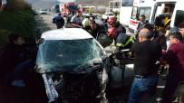TEM'de Yasak Dönüş Kaza Getirdi Açıklaması 7 Yaralı
