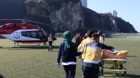 TıP FAKÜLTESI - 112 Helikopteri 53 Yaşındaki Hasta İçin Havalandı