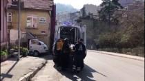 ATATÜRK - Asansör Boşluğuna Düşen Kadın Yaralandı