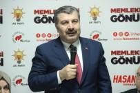 SAĞLıK BAKANı - Bakan Koca'dan Eskişehir'de 'Şehir Hastanesi' Serzenişi