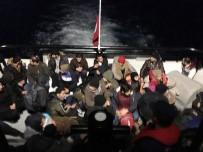 SAHİL GÜVENLİK - Bodrum'da 46 Kaçak Göçmen Yakalandı