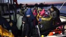 SAHİL GÜVENLİK - Çanakkale'de 59 Düzensiz Göçmen Yakalandı