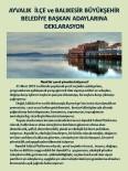 Çevrecilerden Başkan Adaylarına Anlamlı Deklarasyon